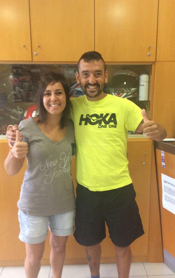 Jordi Gamito y Amalia Vinyes en clínica RIHUMA