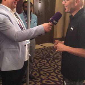 Ricard Huélamo en The Soccerex Asian Forum 2016 RIHUMA clínica
