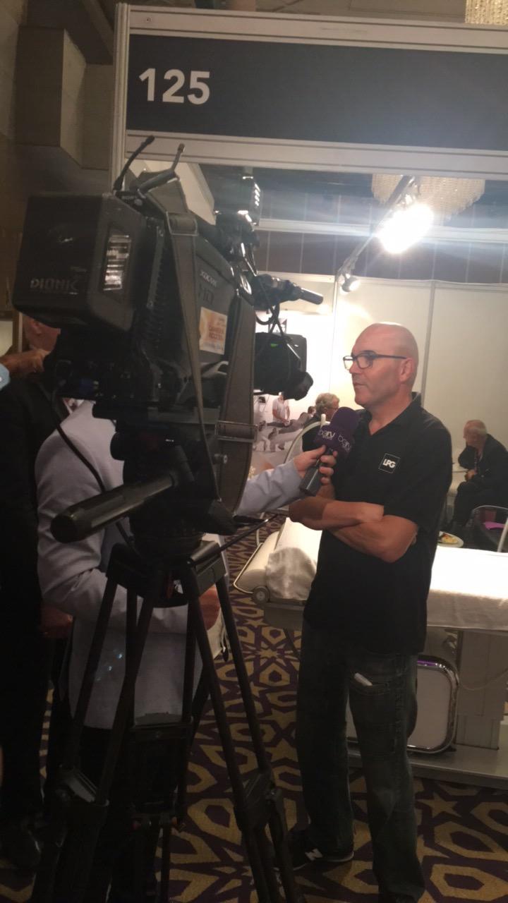 Ricard Huélamo en The Soccerex Asian Forum 2016 RIHUMA clínica LPG System
