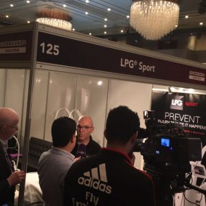 Ricard Huélamo en The Soccerex Asian Forum 2016 RIHUMA clínica