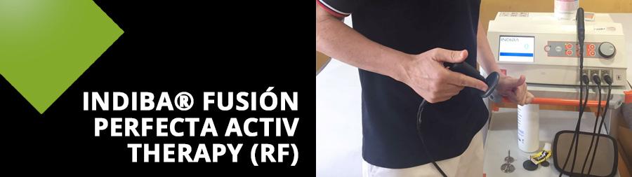 INDIBA® fusión perfecta Activ Therapy (RF) Clínica RIHUMA