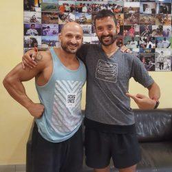 Jordi Gamito y Alberto Alonso en Clínica RIHUMA Fisioterapia